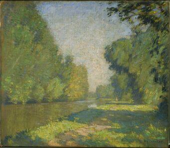 William Lathrop, 'The Tow Path'