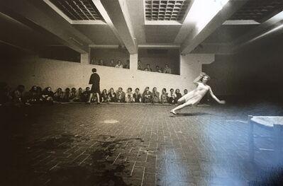Claudio Abate, 'Trisha Brown 'Skunk Cabbage, Salt Grass and Waders' Performed at 'Danza, Volo, Musica, Dinamite' festival, l'Attico, Rome, 9-23 June 1969. Photos by Claudio Abate', 1969