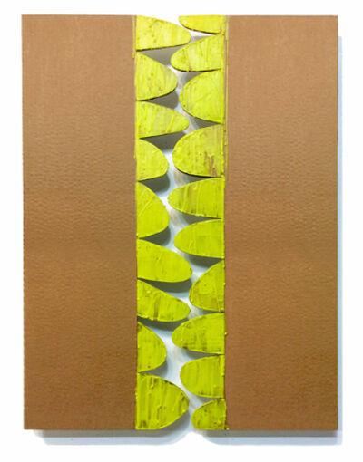 Dolores Poacelli, 'ArtePovera / YELLOW LOOPS', 2017