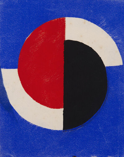 Sonia Delaunay, 'Greeting Card for Sonia Delauney exhibition at Galerie Bing, Paris ', 1964
