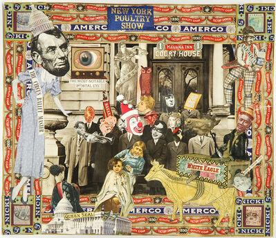 Felipe Jesus Consalvos, 'The Circus Ballet Master', ca. 1920-50