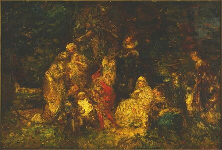 Adolphe Monticelli, 'As You Like It', date unknown