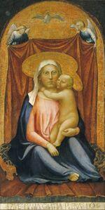 Masaccio, 'The Madonna of Humility', ca. 1423/1424