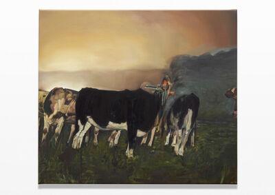 Léopold Rabus, 'Troupeau de vaches', 2012