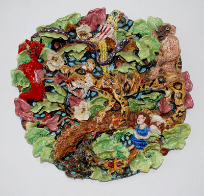 Maria Alquilar, 'Jungle Plate', 1980