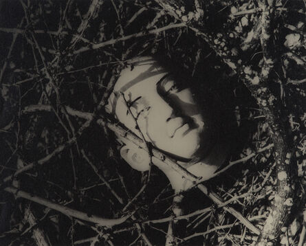 Lionel Wendt, 'Untitled (Head Among Twigs 2)', ca. 1942