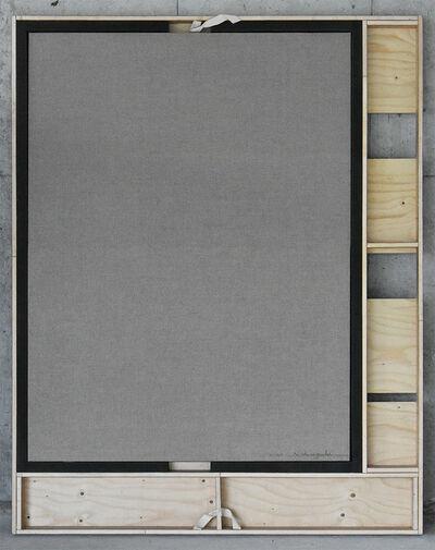 Noriyuki Haraguchi 原口 典之, 'Canvas Crate / Canvas 2', 2020