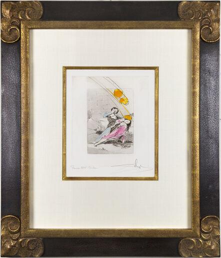 Salvador Dalí, 'Les Caprices de Goya: Tábano', 1977