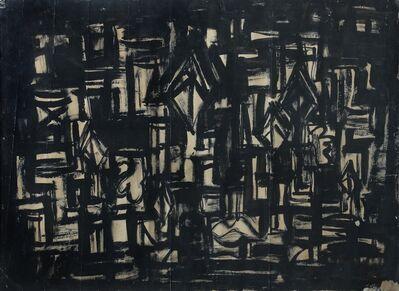 Rasheed Araeen, 'Black Painting', 1963
