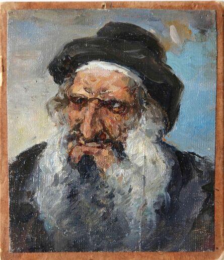 Vassily Dmitrievich Polenov, 'Head of Old Jew in Hat ', 1884