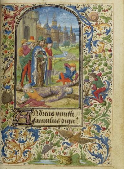 Lievan van Lathem, 'The Martyrdom of Saint Andrew', 1469