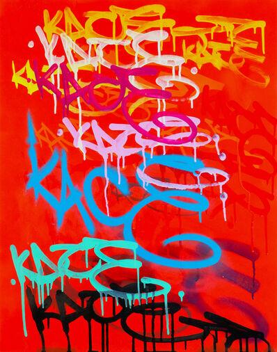 Kip Omolade, 'Luxury Graffiti Kelley II Tag Sheet', 2020