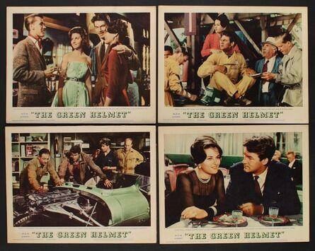 Anon, 'GREEN HELMET 6 Lobby Cards '61 Bill Travers, Sidney James, Ed Begley, Le Mans racing!', 1961