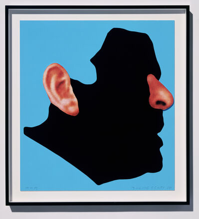 John Baldessari, 'Noses & Ears Etc.: The Gemini Series: Profile with Ear and Nose (Color)', 2006