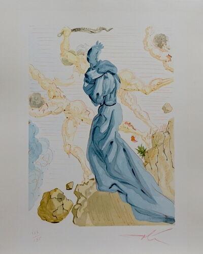 Salvador Dalí, 'Divine Comedy Hell Canto 19', ca. 1963