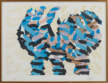 Karel Appel, 'Happy Cat', 1979