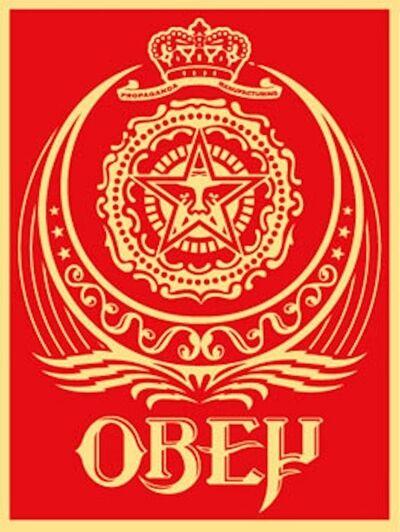 Shepard Fairey, 'Ankara Red', 2005