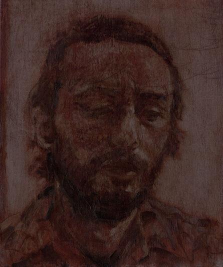 Charles Laib Bitton, 'Portrait of a Man#1 / Self-portrait in Mourão', ca. 2020
