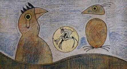 Max Ernst, 'Oiseaux', 1970