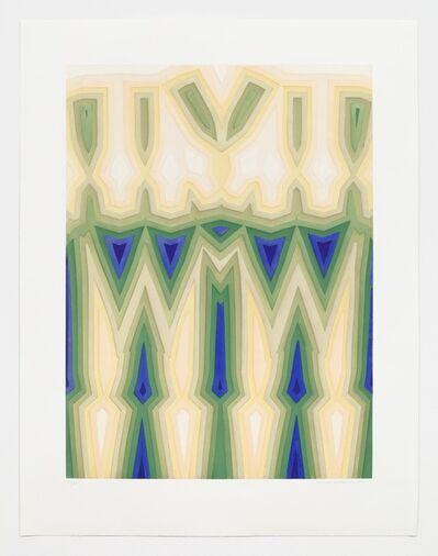 Tauba Auerbach, 'Fold/Slice Topo II', 2011