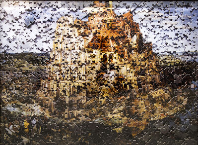 Vik Muniz, 'The Tower of Babel after Pieter Bruegel (Gordian Puzzles)', 2007