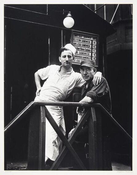Walker Evans, 'Lunchroom Buddies, New York City', 1931
