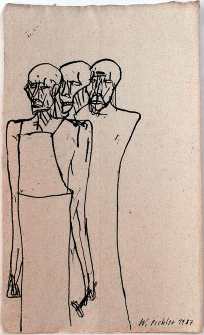 Walter Pichler, 'Dreifacher Handwerker', 1987