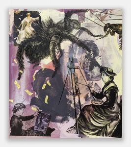 Paulina Olowska, 'Spider Painters', 2020