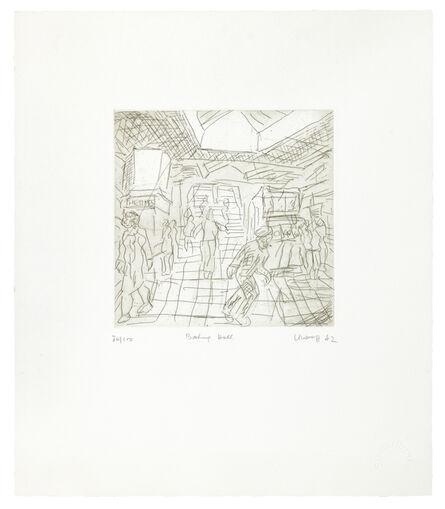 Leon Kossoff, 'Booking Hall (Kilburn Underground)', 1982