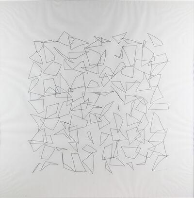"Vera Molnar, 'du cycle ""Errance entre ordre et Chaos""', 1975"