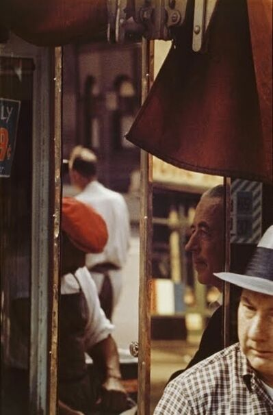 Saul Leiter, 'Reflection', 1958