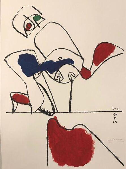 Le Corbusier, 'Taureau XVII', 1963