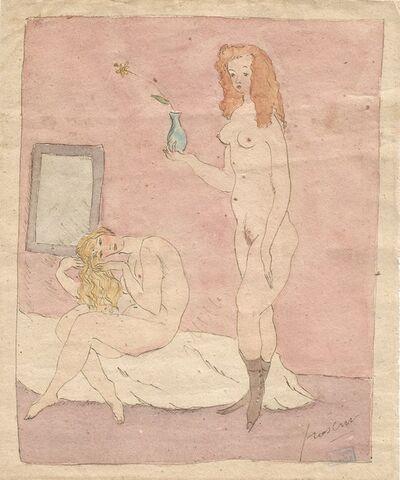 Jules Pascin, 'Brothel scene.', ca. 1920