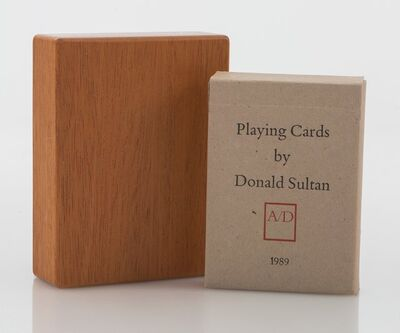 Donald Sultan, 'Playing Cards', 1989