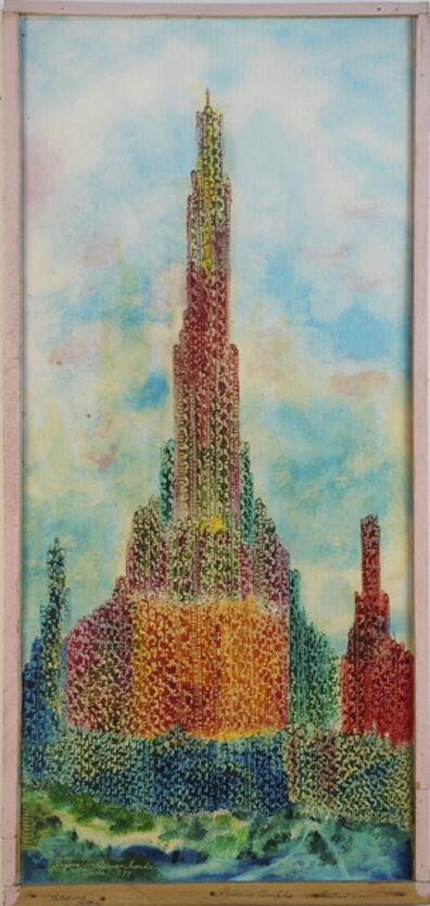 Eugene Von Bruenchenhein, 'Steel and stainless..., June 1978', 1978