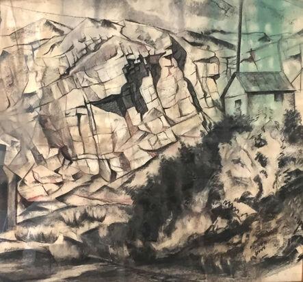 Bernard Badura, 'Quarry Landscape', 1930s-1940s