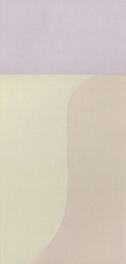 Susan Vecsey, 'Untitled (Cream/Pink Vertical)', 2015