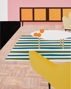 Kevin Appel, 'A Living Room with Oranges', 1996