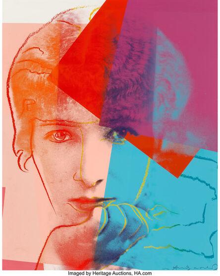 Andy Warhol, 'Sarah Bernhardt, from Ten Portraits of Jews of the Twentieth Century', 1980