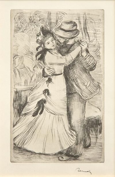 Pierre-Auguste Renoir, 'La Danse à la Campagne, 2e planche', 1890