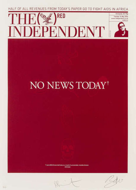 Damien Hirst, 'The Independent (RED)', 2008
