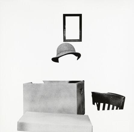 John Baldessari, 'Box, Hat, Frame and Chair', 2011