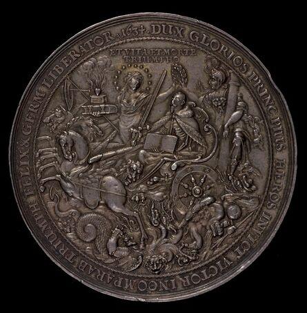 Sebastian Dadler, 'Triumph of King Gustavus Adolphus [reverse]', 1634