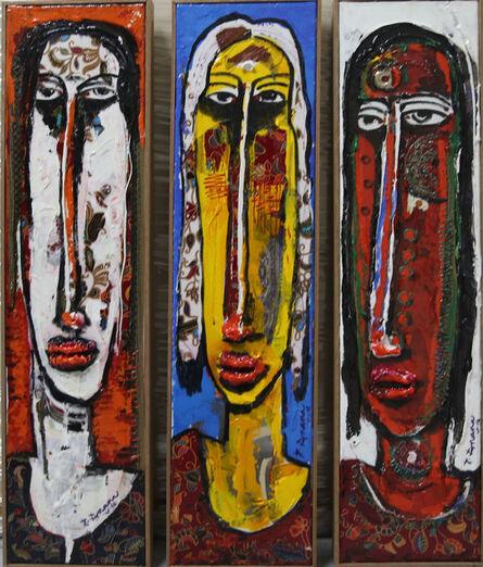 P Gnana, 'Kiss of Life Series - b', 2016