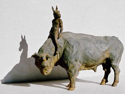 Beth Carter, 'Bull and Rider'