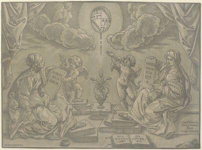 Bartolomeo Coriolano after Guido Reni, 'Thesis', 1640