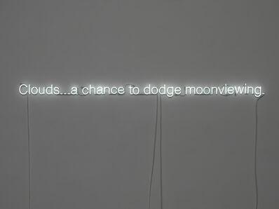 Cerith Wyn  Evans, 'Haiku (Neon)', 2010