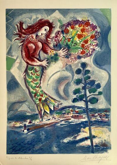 Marc Chagall, ' Sirène au pin', 1967
