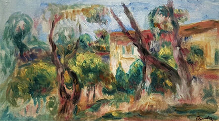 Pierre-Auguste Renoir, 'Paysage', 1910-1913