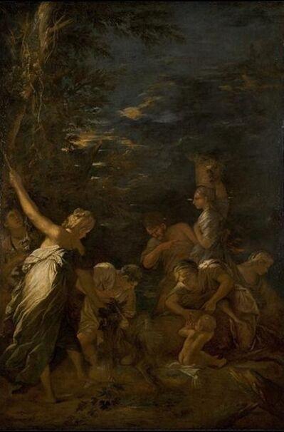 Salvator Rosa, 'The Nurture of Jupiter', ca. 1659